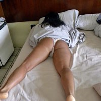 Brazil: Waking and Feet - Brunette, Latina, Big Ass