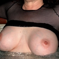 Large tits of my wife - Tracy