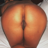 My wife's ass