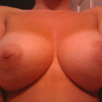 Large tits of my wife - Rea