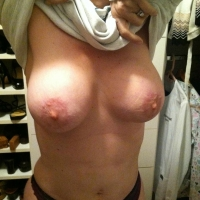 Large tits of my wife - Lea