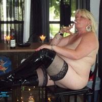 Thigh Highs - Lingerie, Blonde