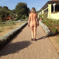 Walking Nude - Public Exhibitionist