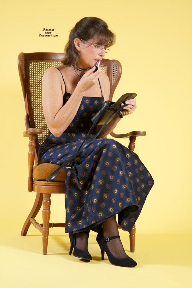 Pic #1 Vanessab - Big Tits, Brunette, High Heels Amateurs, Lingerie