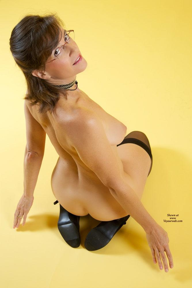 Pic #7 Vanessab - Big Tits, Brunette, High Heels Amateurs, Lingerie