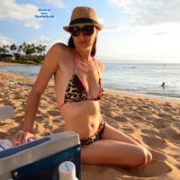 Crazy X-Girl - Beach, Bikini Voyeur