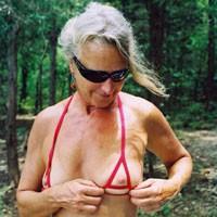 Slut Linda - Mature, Bikini Voyeur