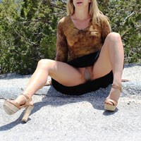 Mt. Charleston - Dressed, High Heels Amateurs, Lingerie, Firm Ass