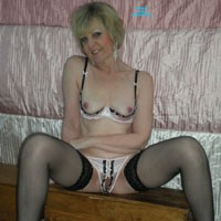 Joy Caved In - Blonde, Lingerie, Mature