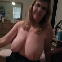Large tits of my wife - Becky C