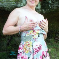 Walk in The Park - Big Tits, Nature, Wife/Wives, Dressed