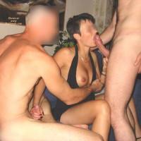 Aurelie And 2 Men. Part 2