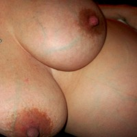 Very large tits of my girlfriend - sexypg
