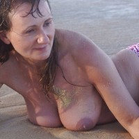 Beach Tits - Beach, Big Tits