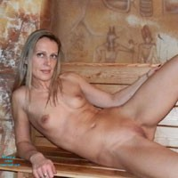 In The Pharaoh's Shadow - Blonde Hair, Natural Tits, Shaved, Small Tits