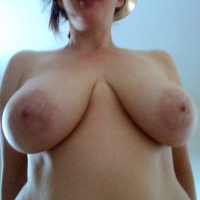 Very large tits of my girlfriend