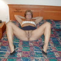 Loves To Spread Her Legs - Big Tits