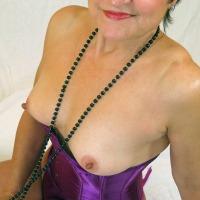 Small tits of my wife - Mariska