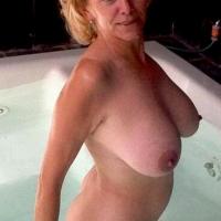 Large tits of a neighbor - Terri