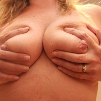 Large tits of my wife - Mrs North