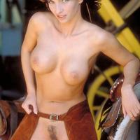 Sex Is Everywhere - Big Tits, Brunette Hair, Nude Outdoors
