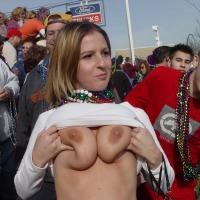 Large tits of a neighbor - random hottie