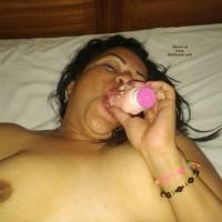 Indira I - Brunette, Shaved