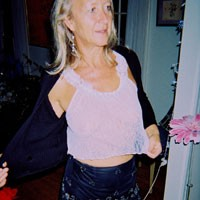 Slut Linda - Dressed, Mature, See Through