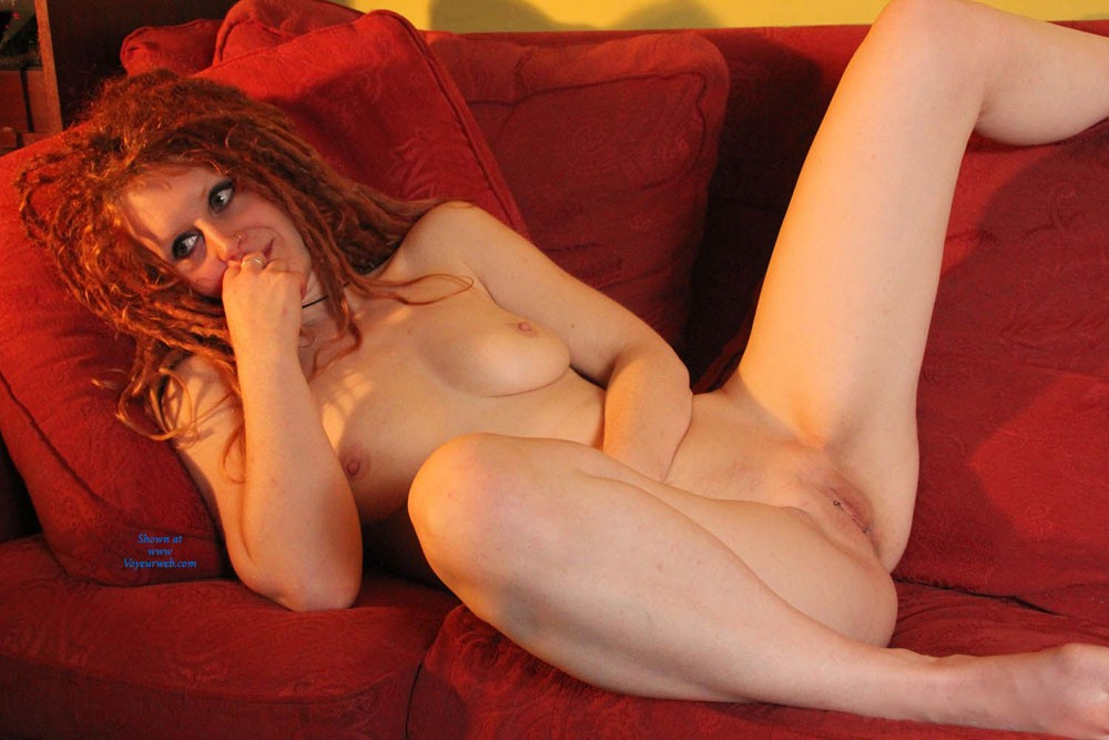 Pic #1 - Naughtiness... - Big Tits, Natural Tits, Redhead, Sexy Ass