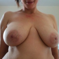 Extremely large tits of my girlfriend - Mrs P