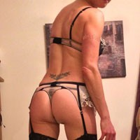 She Never Stops to Amaze Me - Round Ass, Beautiful Ass, Lingerie