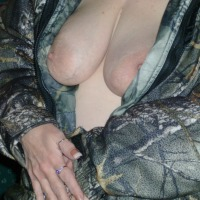 Large tits of my wife - Mary