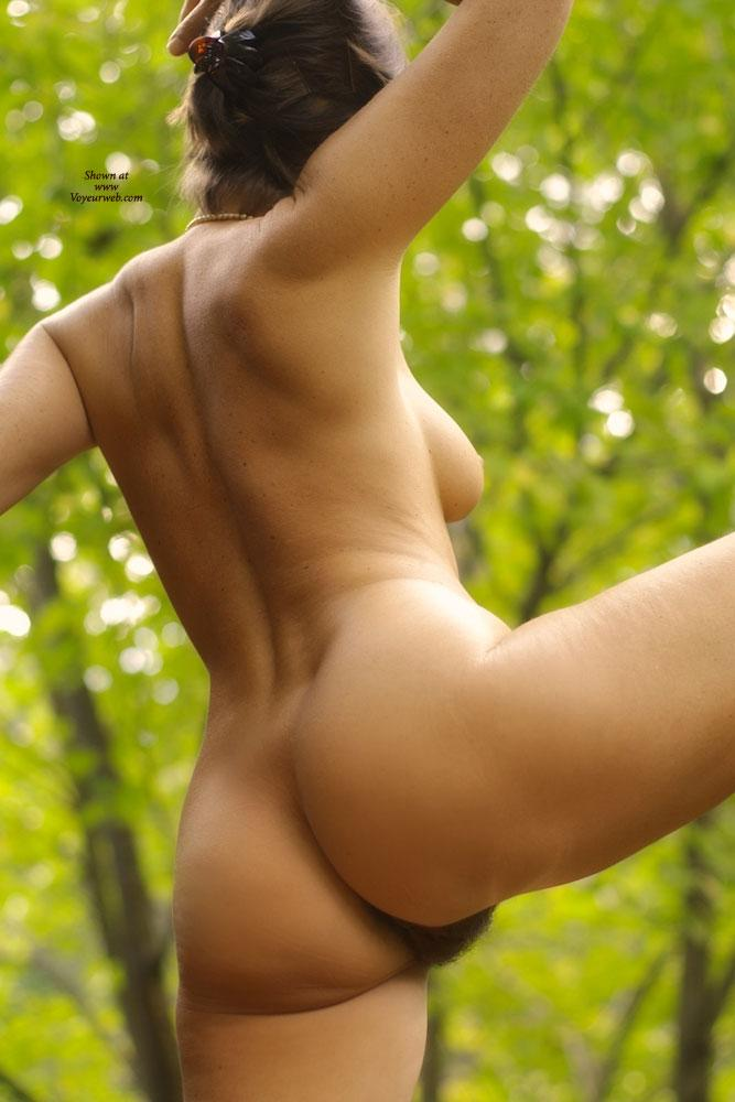 Pic #10 - Vanessab ... Autumn - Outdoors, Brunette
