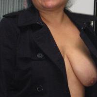 Medium tits of a co-worker - Toni