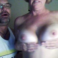 Large tits of my girlfriend - Vitamin D
