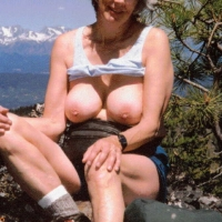 Large tits of my wife - World Traveler