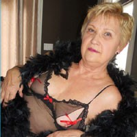 Photo Shoot 4 - Blonde, Lingerie, Mature, Wife/Wives