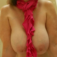 Very large tits of my wife - Texas Gal