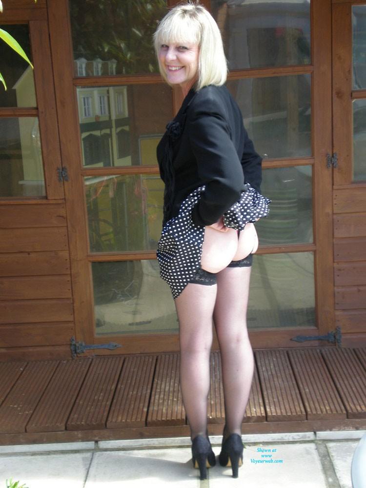 Pic #8 Sexy Joy - Blonde, High Heels Amateurs, Lingerie, Mature
