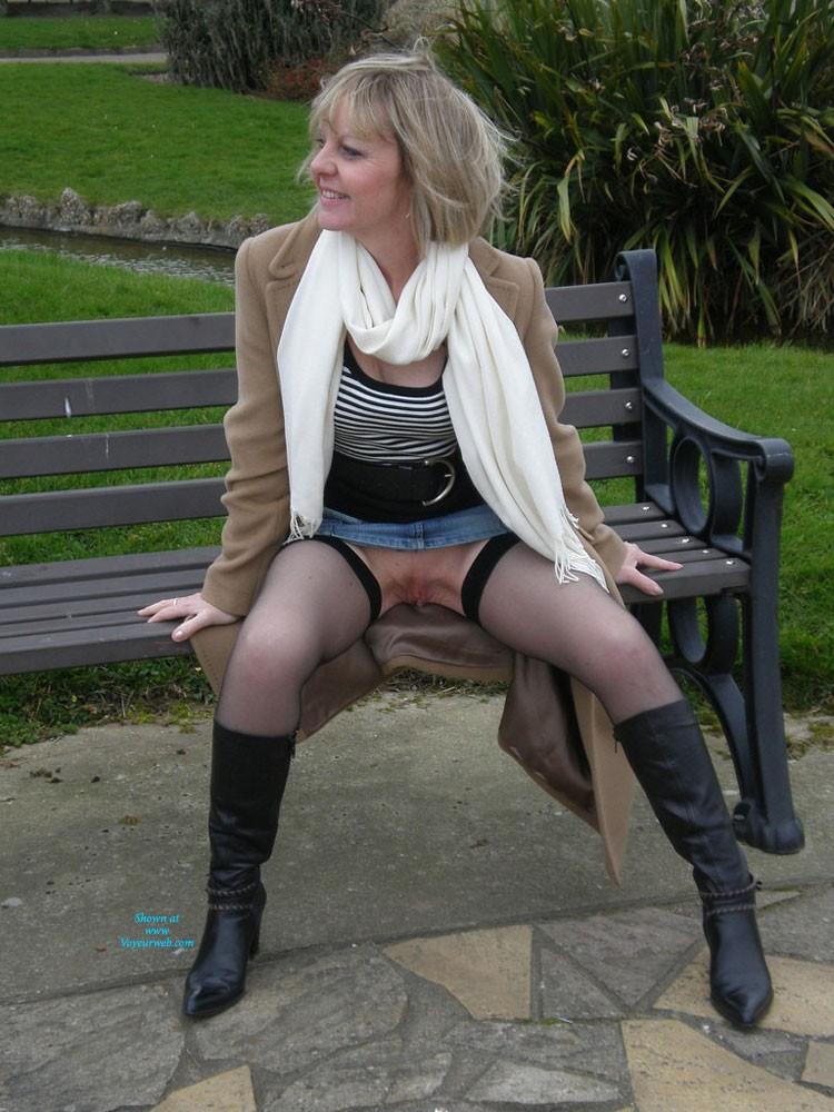 Pic #9 Sexy Joy - Blonde, High Heels Amateurs, Lingerie, Mature