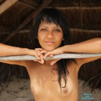 Naked Beach Girl - Brunette Hair, Erect Nipples, Exposed In Public, Firm Tits, Hard Nipple, Naked Outdoors, Nude Beach, Showing Tits, Topless Beach, Topless Girl, Beach Voyeur, Sexy Boobs, Sexy Face, Sexy Girl