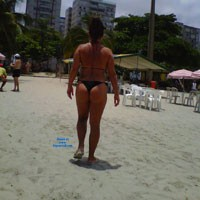 Brazilian Girl at The Beach - Beach, Bikini Voyeur