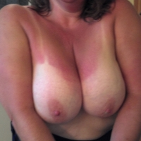 Large tits of my wife - Christine
