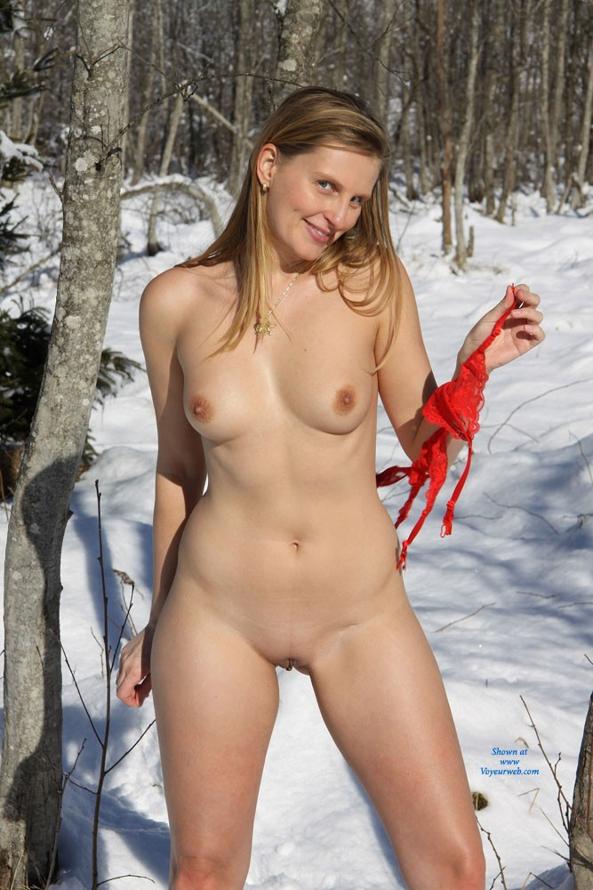 Effective? Blonde weather girl nude