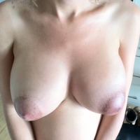 Large tits of my wife - My Woman