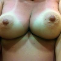 Medium tits of my wife