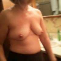 Medium tits of my ex-girlfriend - Oblivious Wife