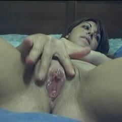 Sexy Teen Bottle Fucking - Brunette, Masturbation