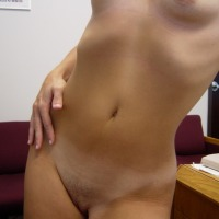 Small tits of a co-worker - Nina