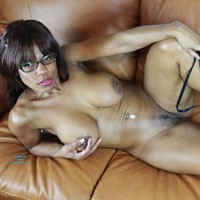Nerd Ebony Is Ready On Couch - Big Tits, Erect Nipples, Firm Tits, Full Nude, Heels, Huge Tits, Indoors, Large Breasts, Lying Down, Perfect Tits, Shaved Pussy, Showing Tits, Strip, Hot Girl, Naked Girl, Sexy Body, Sexy Boobs, Sexy Face, Sexy Figure, Sexy Girl, Sexy Legs, Sexy Woman, Ebony